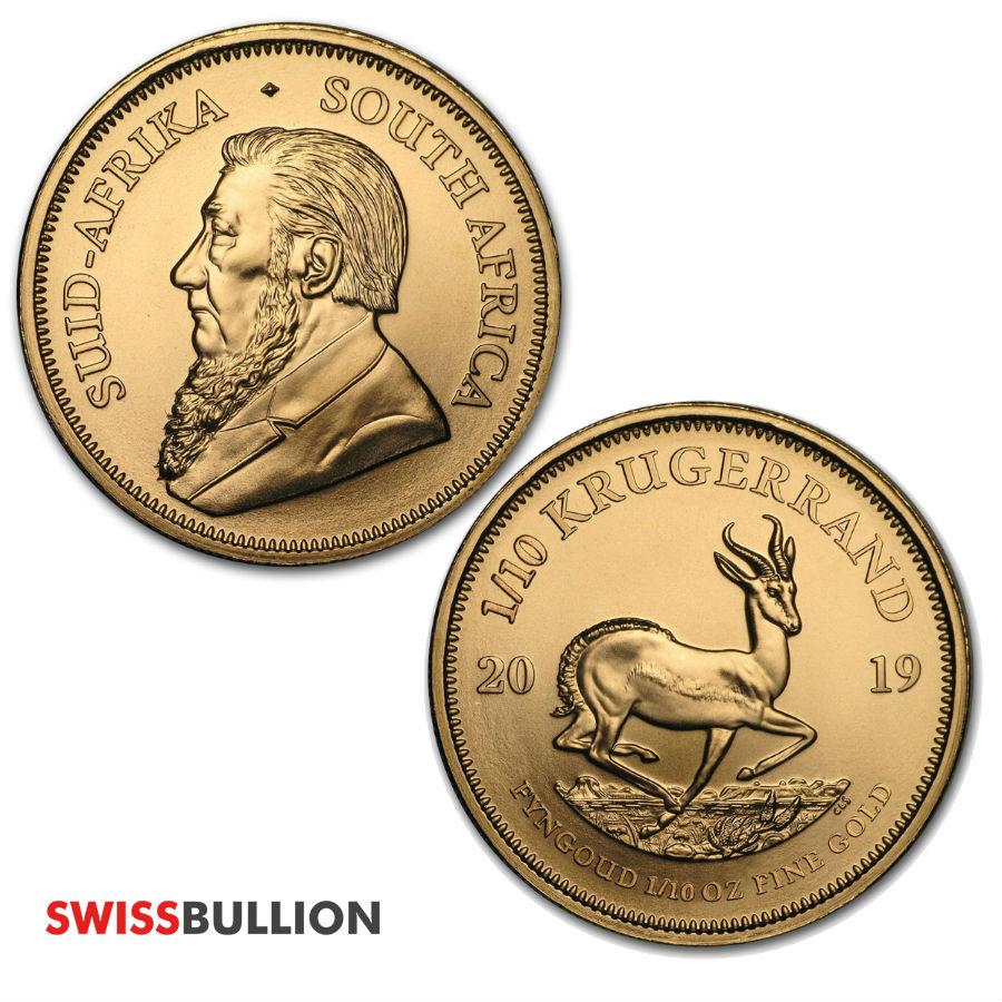 1 10 oz gold coin krugerrand